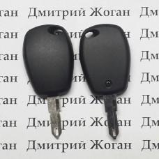 Корпус авто ключа под чип для RENAULT(Рено),лезвие NE 73