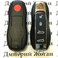 Корпус смарт ключа для Porsche Panamera (Порше Панамера) 4+1 кнопкa