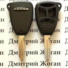 Корпус автоключа для Dodge (Джип) 3+1 кнопки