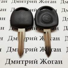 Корпус авто ключа под чип для Opel (Опель) лезвие YM28 с правым упором