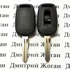 Корпус автоключа Chevrolet Captiva (Шевролет) - 2 кнопки