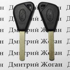 Корпус авто ключа под чип для SUBARU (Субару)  лезвие DAT17