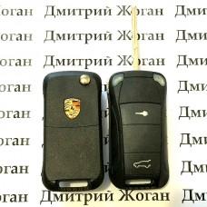 Корпус выкидного автоключа для Porsche (Порше) 2 кнопки