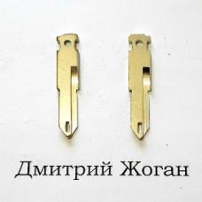 Лезвие для выкидного ключа Citroen (Ситроен) NE73