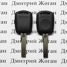 Корпус авто ключа под чип для SKODA (шкода), лезвие HU66