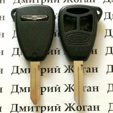 Корпус автоключа для Chrysler ( Крайслер) 2+1 кнопки (тип 2)
