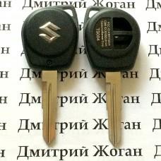 Корпус автоключа Suzuki (Сузуки), лезвие SZ11 - 2 кнопки