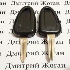 Корпус автоключа для Fiat , IVECO (Фиат , Ивеко) 1 - кнопка с лезвием GT15