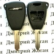 Корпус автоключа для Jeep (Джип) 3 кнопки + 1 (panic)