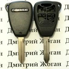 Корпус для автоключа Dodge (Додж) 4 кнопки + 1 (panic)